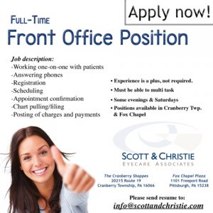 SCAOfficeAD Employment Opportunities