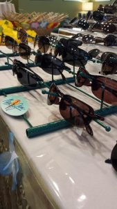 Maui Jim sunwear collection on display