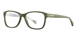 Green glasses by Coach
