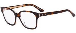 Classic tortoise frames by Dior