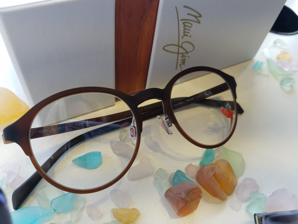 a25acec2f1 Stop in to Good Looks Eyewear Cranberry for your new Maui Jim Ophthalmic  glasses!